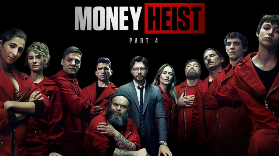DOWNLOAD Money Heist Season 4 ( Episode 1 -8 )